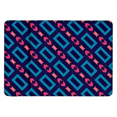 Rectangles and other shapes pattern Samsung Galaxy Tab 8.9  P7300 Flip Case