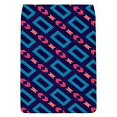 Rectangles and other shapes pattern Removable Flap Cover (S)