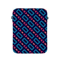 Rectangles and other shapes pattern Apple iPad 2/3/4 Protective Soft Case