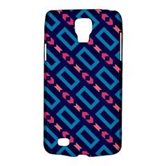 Rectangles and other shapes pattern Samsung Galaxy S4 Active (I9295) Hardshell Case