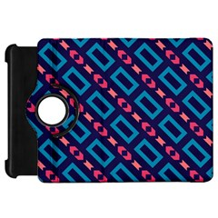 Rectangles and other shapes pattern	Kindle Fire HD Flip 360 Case