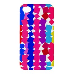 Colorful squares Apple iPhone 4/4S Hardshell Case