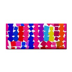 Colorful Squares Hand Towel