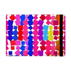 Colorful squares Apple iPad Mini Flip Case