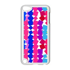 Colorful squares Apple iPod Touch 5 Case (White)