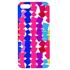 Colorful squares Apple iPhone 5 Hardshell Case with Stand