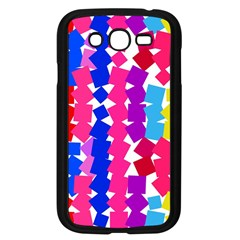 Colorful Squares Samsung Galaxy Grand Duos I9082 Case (black)