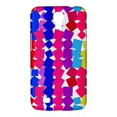 Colorful squares Samsung Galaxy Mega 6.3  I9200 Hardshell Case