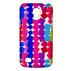 Colorful squares Samsung Galaxy S4 Mini (GT-I9190) Hardshell Case