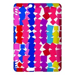 Colorful squares Kindle Fire HDX Hardshell Case