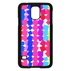 Colorful squaresSamsung Galaxy S5 Case