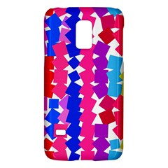 Colorful Squaressamsung Galaxy S5 Mini Hardshell Case