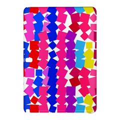 Colorful squaresSamsung Galaxy Tab Pro 10.1 Hardshell Case