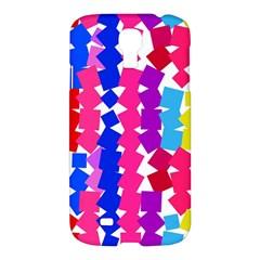 Colorful squaresSamsung Galaxy S4 I9500/I9505 Hardshell Case $10