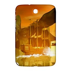 Awesome Sunset Over The Ocean With Ship Samsung Galaxy Note 8.0 N5100 Hardshell Case
