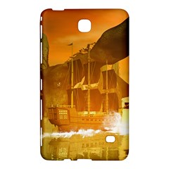 Awesome Sunset Over The Ocean With Ship Samsung Galaxy Tab 4 (8 ) Hardshell Case