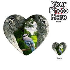 Bird In The Tree 2 Playing Cards 54 (Heart)