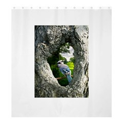Bird In The Tree 2 Shower Curtain 66  x 72  (Large)