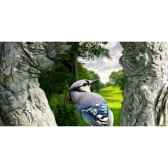 Bird In The Tree 2 YOU ARE INVITED 3D Greeting Card (8x4)