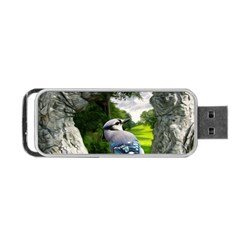 Bird In The Tree 2 Portable Usb Flash (one Side)