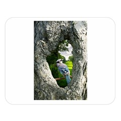 Bird In The Tree 2 Double Sided Flano Blanket (Large)