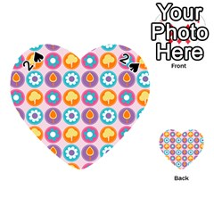 Chic Floral Pattern Playing Cards 54 (Heart)