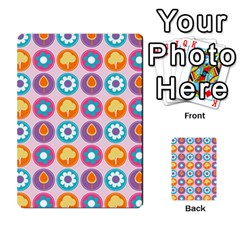 Chic Floral Pattern Multi Purpose Cards (rectangle)