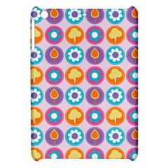 Chic Floral Pattern Apple iPad Mini Hardshell Case