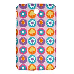 Chic Floral Pattern Samsung Galaxy Tab 3 (7 ) P3200 Hardshell Case