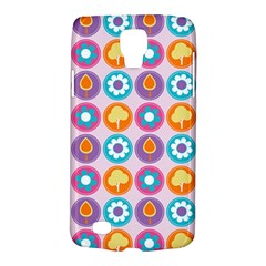 Chic Floral Pattern Galaxy S4 Active