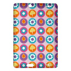 Chic Floral Pattern Kindle Fire HD (2013) Hardshell Case