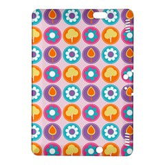 Chic Floral Pattern Kindle Fire Hdx 8 9  Hardshell Case