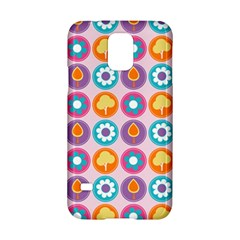 Chic Floral Pattern Samsung Galaxy S5 Hardshell Case