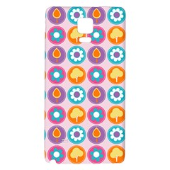 Chic Floral Pattern Galaxy Note 4 Back Case