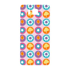 Chic Floral Pattern Samsung Galaxy Alpha Hardshell Back Case