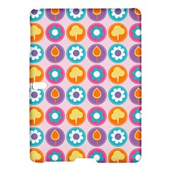 Chic Floral Pattern Samsung Galaxy Tab S (10.5 ) Hardshell Case
