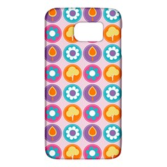 Chic Floral Pattern Galaxy S6