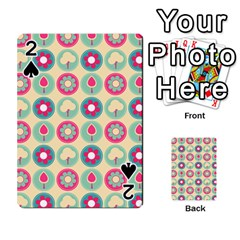 Chic Floral Pattern Playing Cards 54 Designs