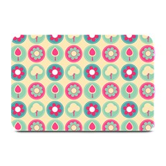 Chic Floral Pattern Plate Mats