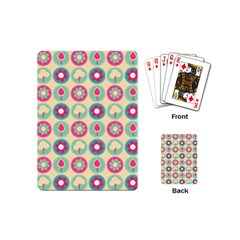 Chic Floral Pattern Playing Cards (Mini)