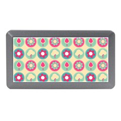 Chic Floral Pattern Memory Card Reader (Mini)