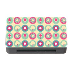 Chic Floral Pattern Memory Card Reader with CF