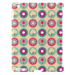 Chic Floral Pattern Apple iPad 3/4 Hardshell Case (Compatible with Smart Cover)