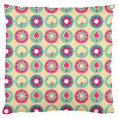 Chic Floral Pattern Large Cushion Cases (Two Sides)