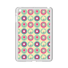 Chic Floral Pattern iPad Mini 2 Enamel Coated Cases