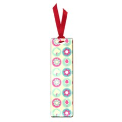 Chic Floral Pattern Small Book Marks