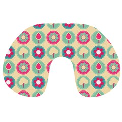 Chic Floral Pattern Travel Neck Pillows