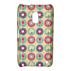 Chic Floral Pattern Nokia Lumia 620