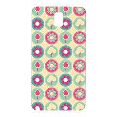 Chic Floral Pattern Samsung Galaxy Note 3 N9005 Hardshell Back Case