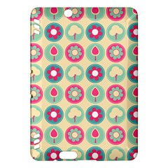 Chic Floral Pattern Kindle Fire HDX Hardshell Case
